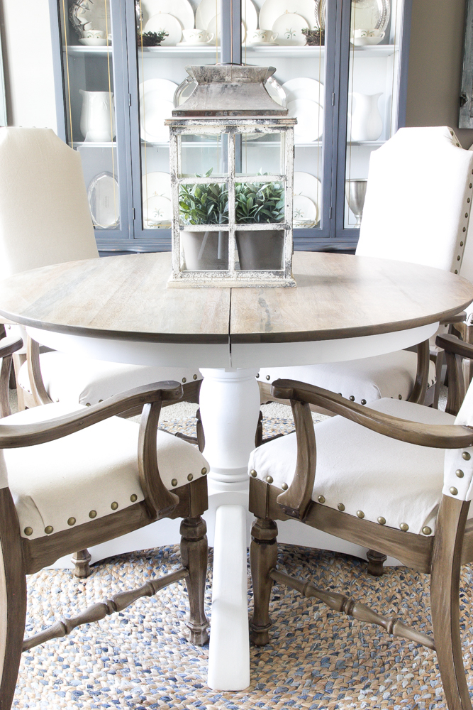 Weathered Oak Dining Table Makeover – Bless'er House In Country Dining Tables With Weathered Pine Finish (Image 23 of 25)