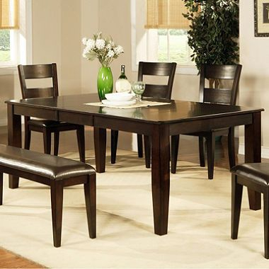 Weston Dining Table – Espresso – Just The Table, Not The With Regard To Coaster Contemporary 6 Seating Rectangular Casual Dining Tables (View 14 of 25)