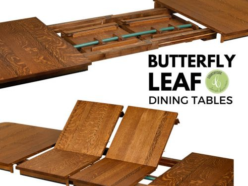 What Are Butterfly Leaf Dining Tables – Countryside Amish For 8 Seater Wood Contemporary Dining Tables With Extension Leaf (View 16 of 25)