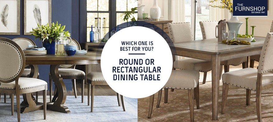 Which One Is Best For You? Round Or Rectangular Dining Table Inside Rectangular Dining Tables (View 11 of 25)