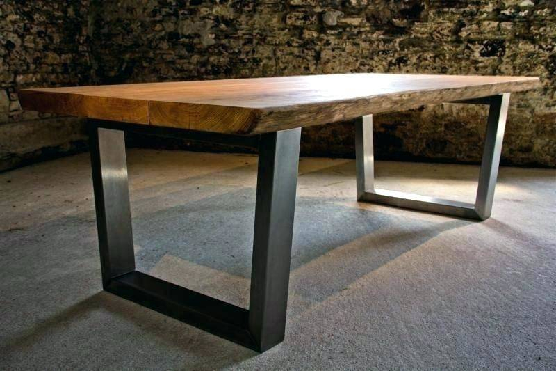 White Oak Dining Table Legs Washed Chairs Round Modern Throughout Fumed Oak Dining Tables (View 14 of 25)