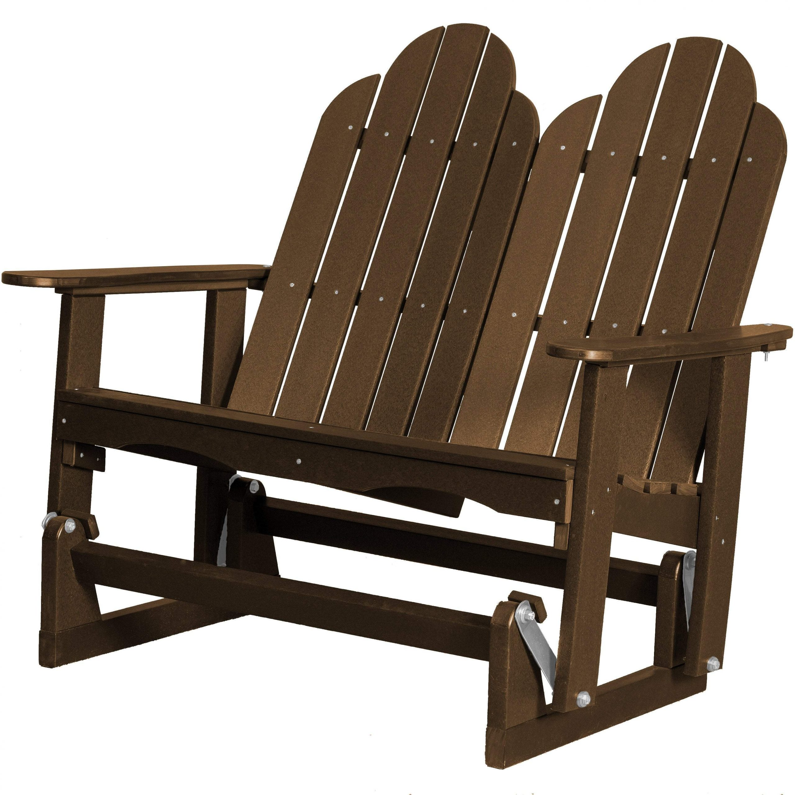 Featured Image of Classic Adirondack Glider Benches