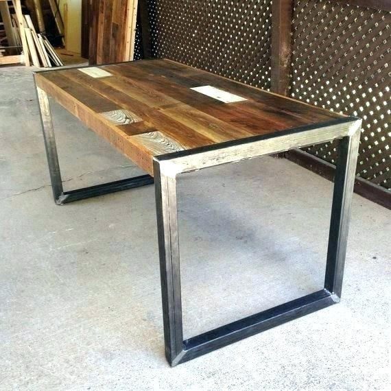 Wood And Iron Dining Table – Cornesandsloane (View 14 of 25)