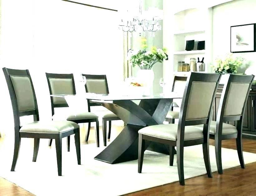 Wood Glass Dining Table And Chairs Round Set Retro Top Room Regarding Retro Round Glasstop Dining Tables (Image 25 of 25)