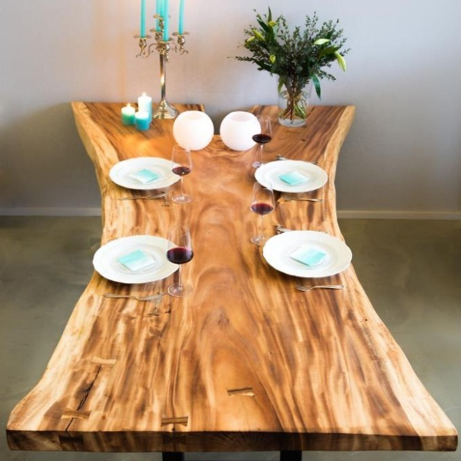 Wooden Dining Table,suar Wood,tabaca Wood,acacia Wood – Buy Natural Dining  Table,treetrunk Table,unique Wooden Table Product On Alibaba For Unique Acacia Wood Dining Tables (Image 24 of 25)