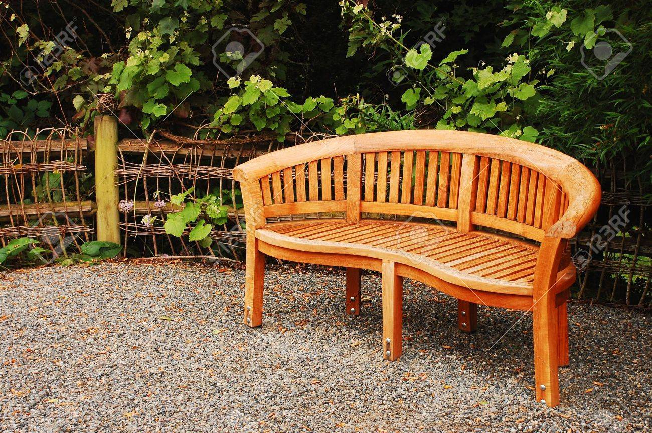Wooden Garden Bench Intended For Wood Garden Benches (View 6 of 25)