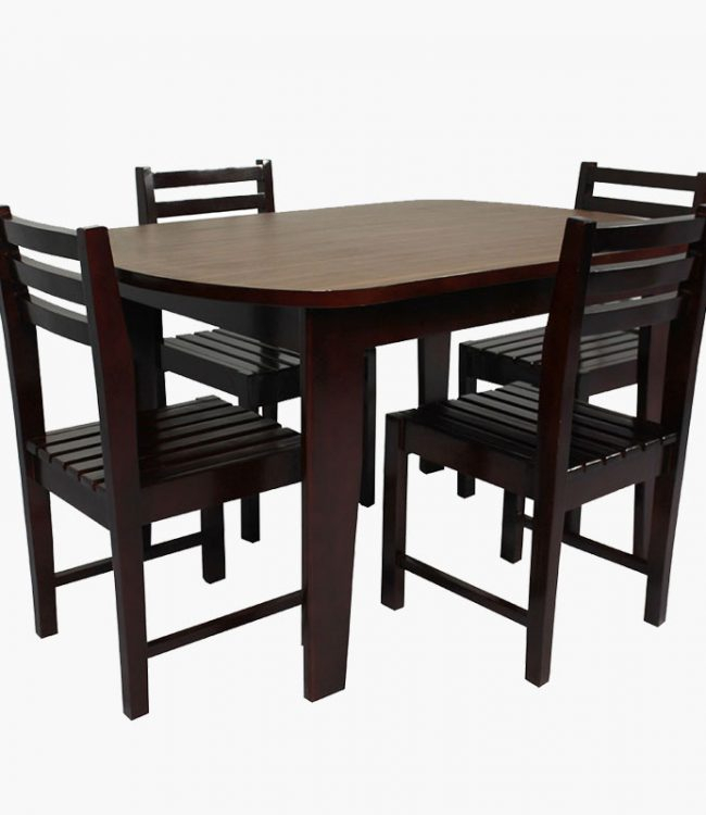 Wooden Top Dining Regarding Wood Top Dining Tables (View 11 of 25)