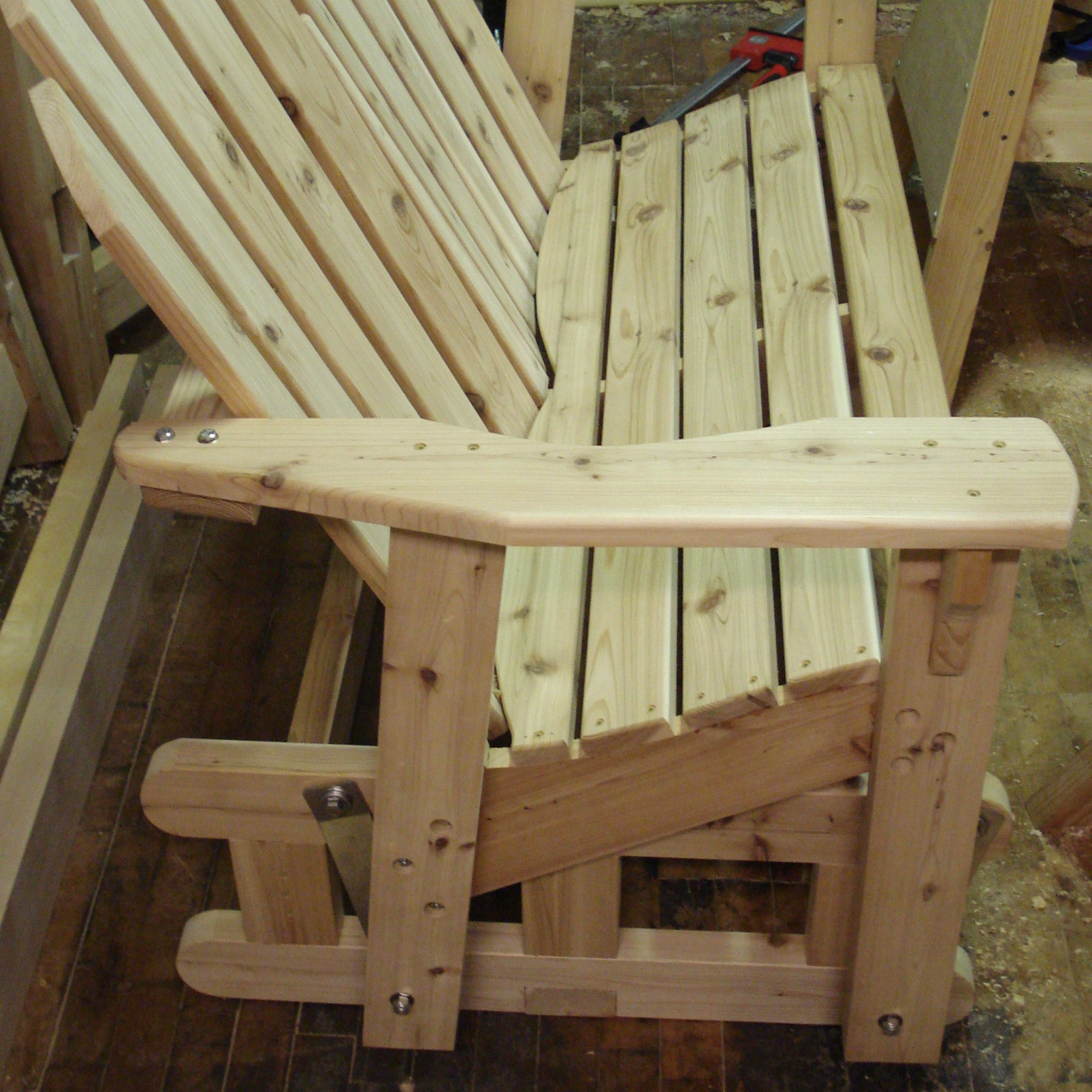 Woodwork Glider Rocker Bench Plans Pdf Plans Recycled Throughout Rocking Glider Benches (View 10 of 25)