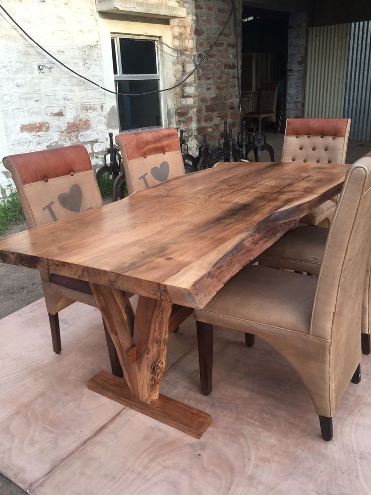 Featured Image of Unique Acacia Wood Dining Tables