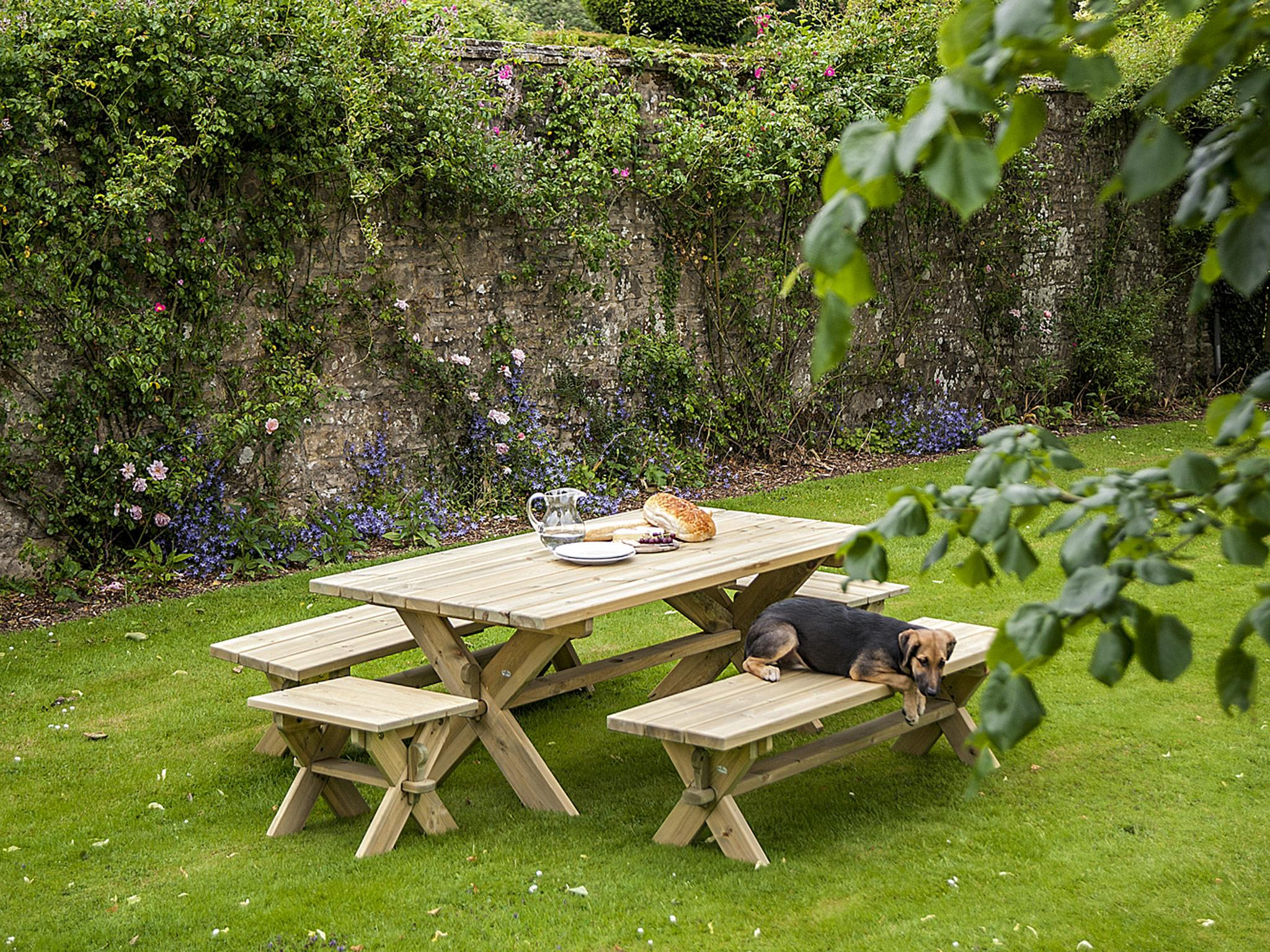 10 Best Garden Benches | The Independent | The Independent Intended For Hampstead Teak Garden Benches (View 21 of 25)
