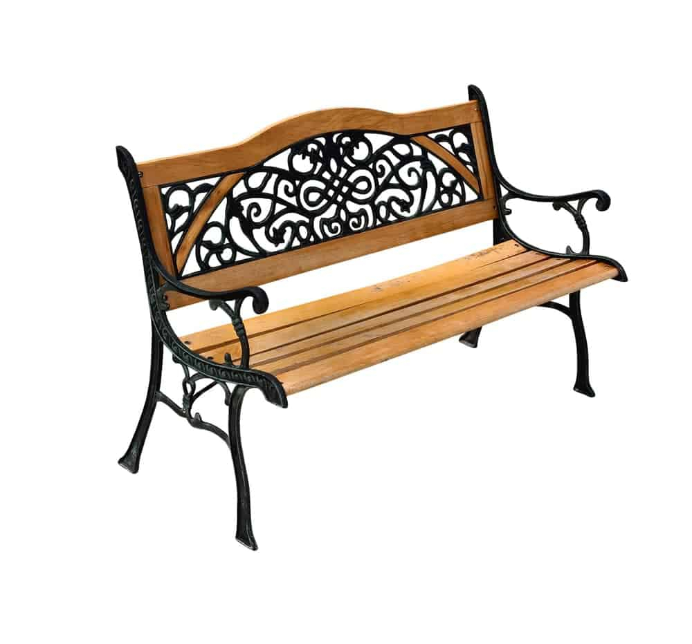 20 Different Types Of Garden Benches Explained With Regard To Tree Of Life Iron Garden Benches (View 24 of 25)
