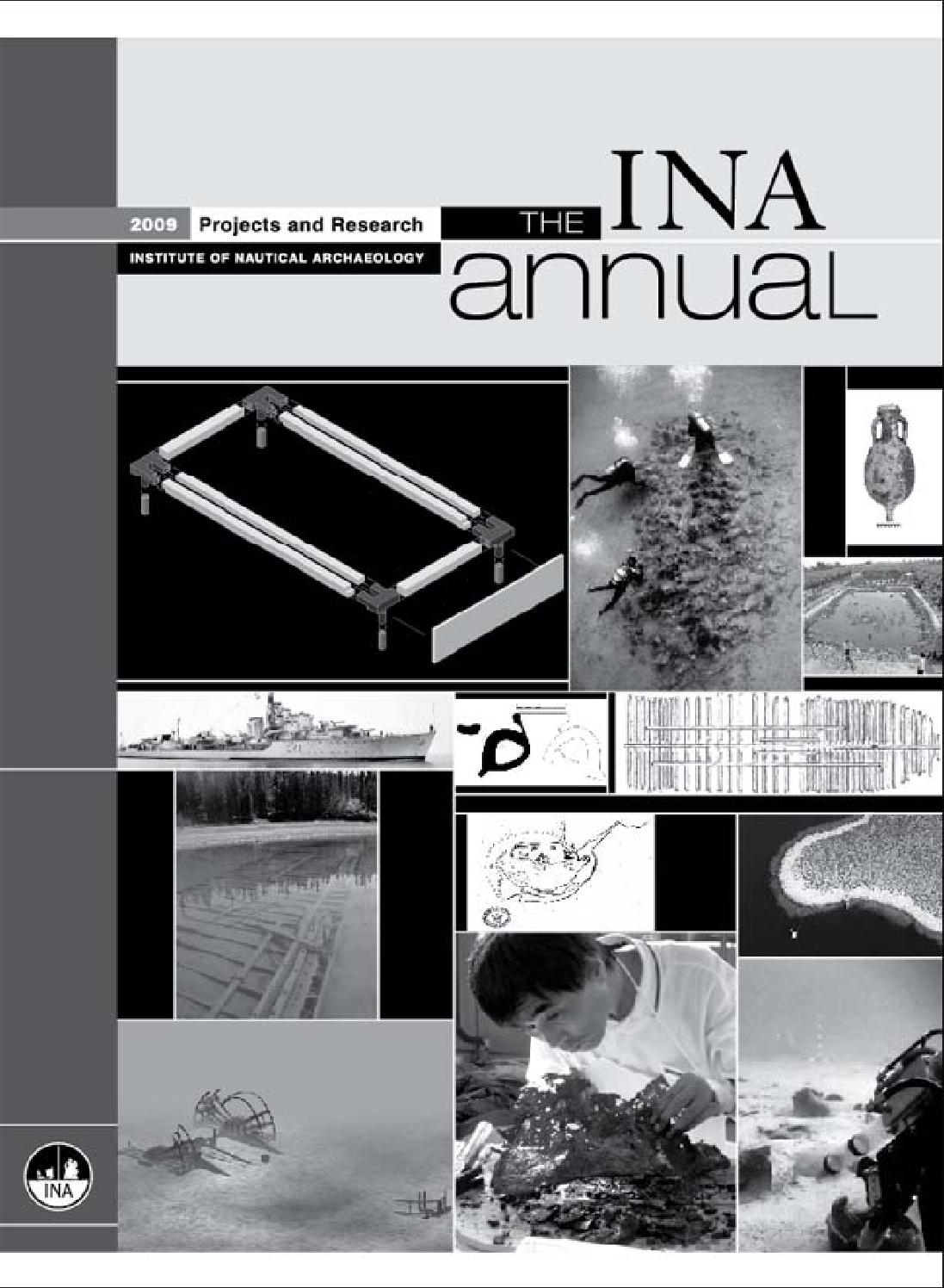 2009 Ina Annualinstitute Of Nautical Archaeology – Issuu In Tufan Cement Garden Stools (View 25 of 25)