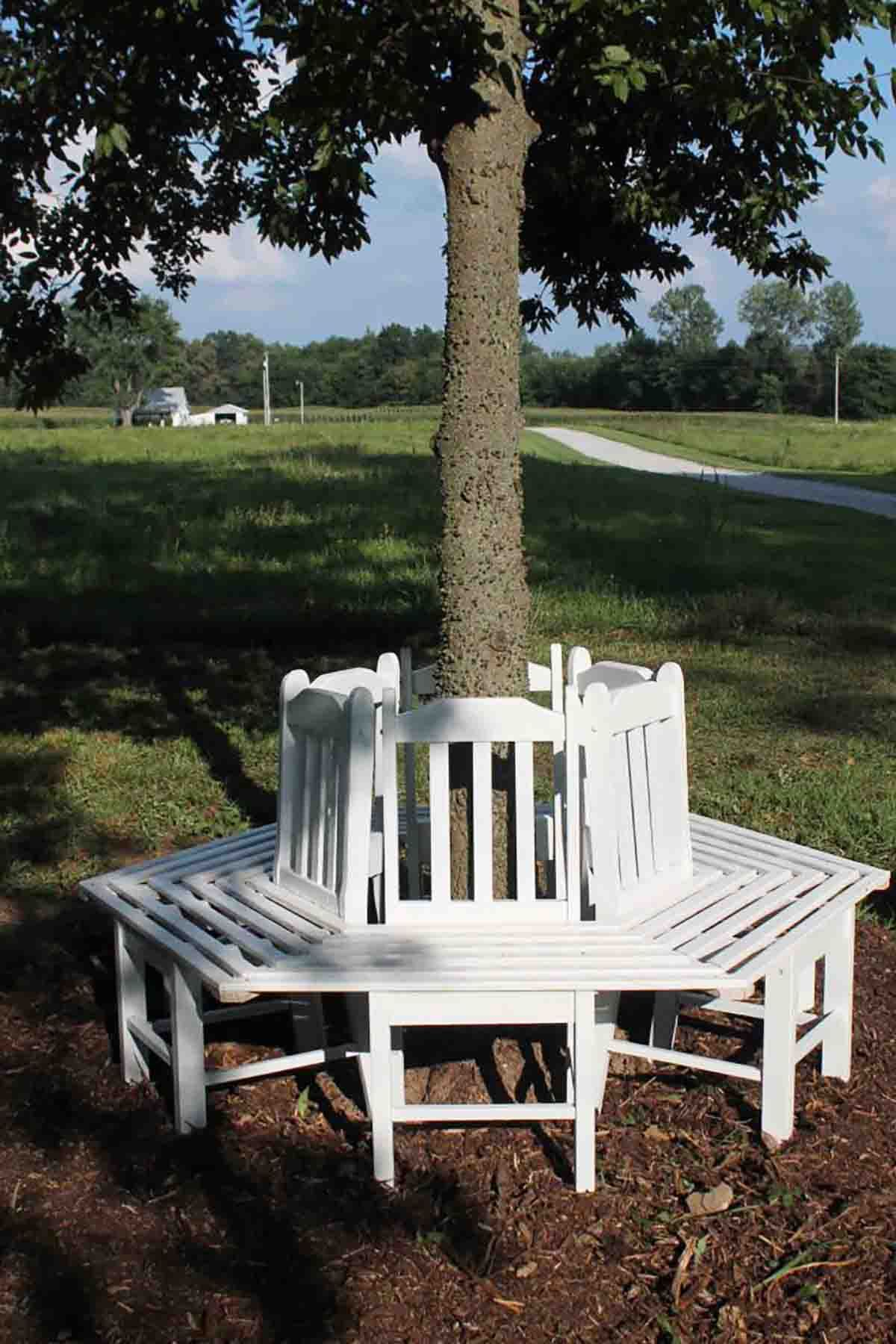 22 Diy Garden Bench Ideas – Free Plans For Outdoor Benches Inside Tree Of Life Iron Garden Benches (View 25 of 25)