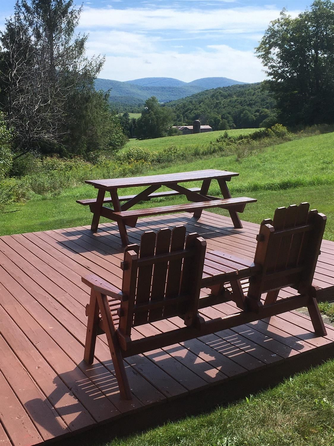 2282 Whiskey Hollow Road, Harpersfield, Ny 13786, Mls #127829 – Howard Hanna With Regard To Harpersfield Wooden Garden Benches (View 22 of 25)