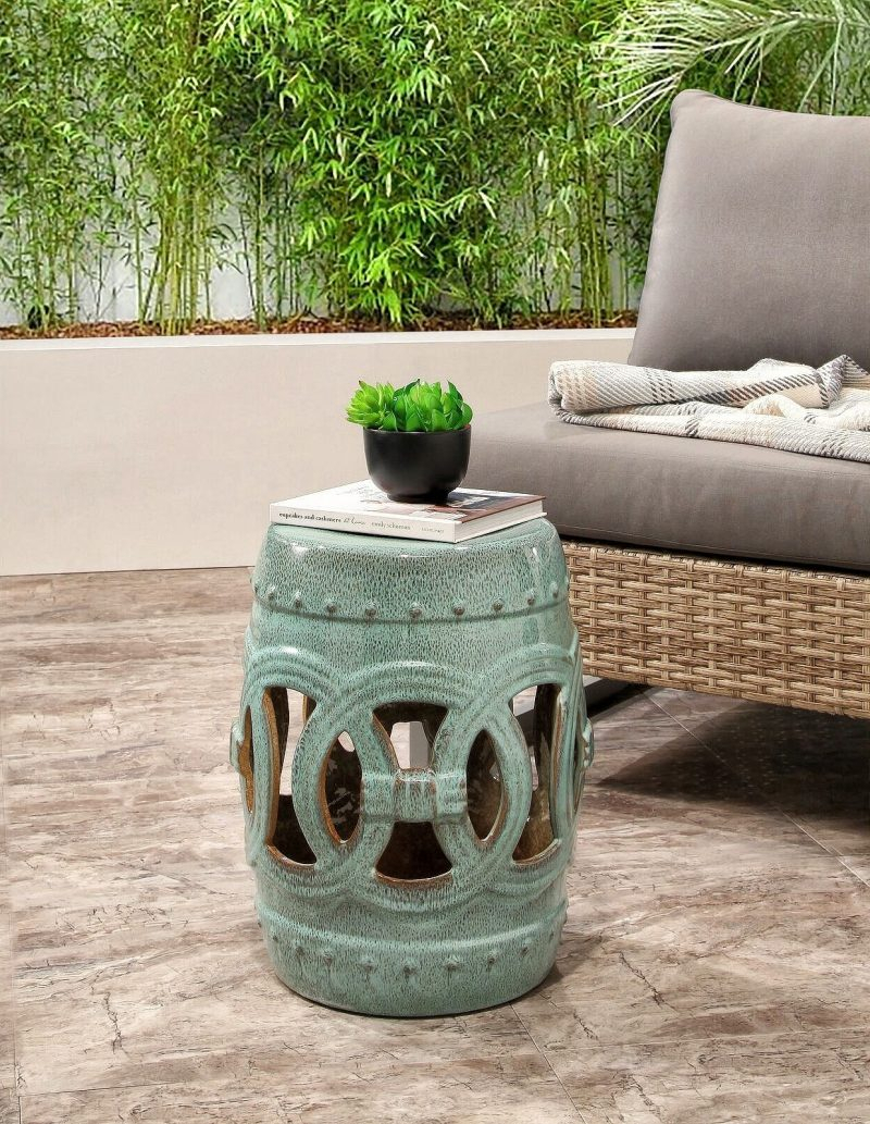 27 Best Garden Stool Ideas: Beautiful & Practical | Garden Inside Feliciana Ceramic Garden Stools (View 12 of 25)