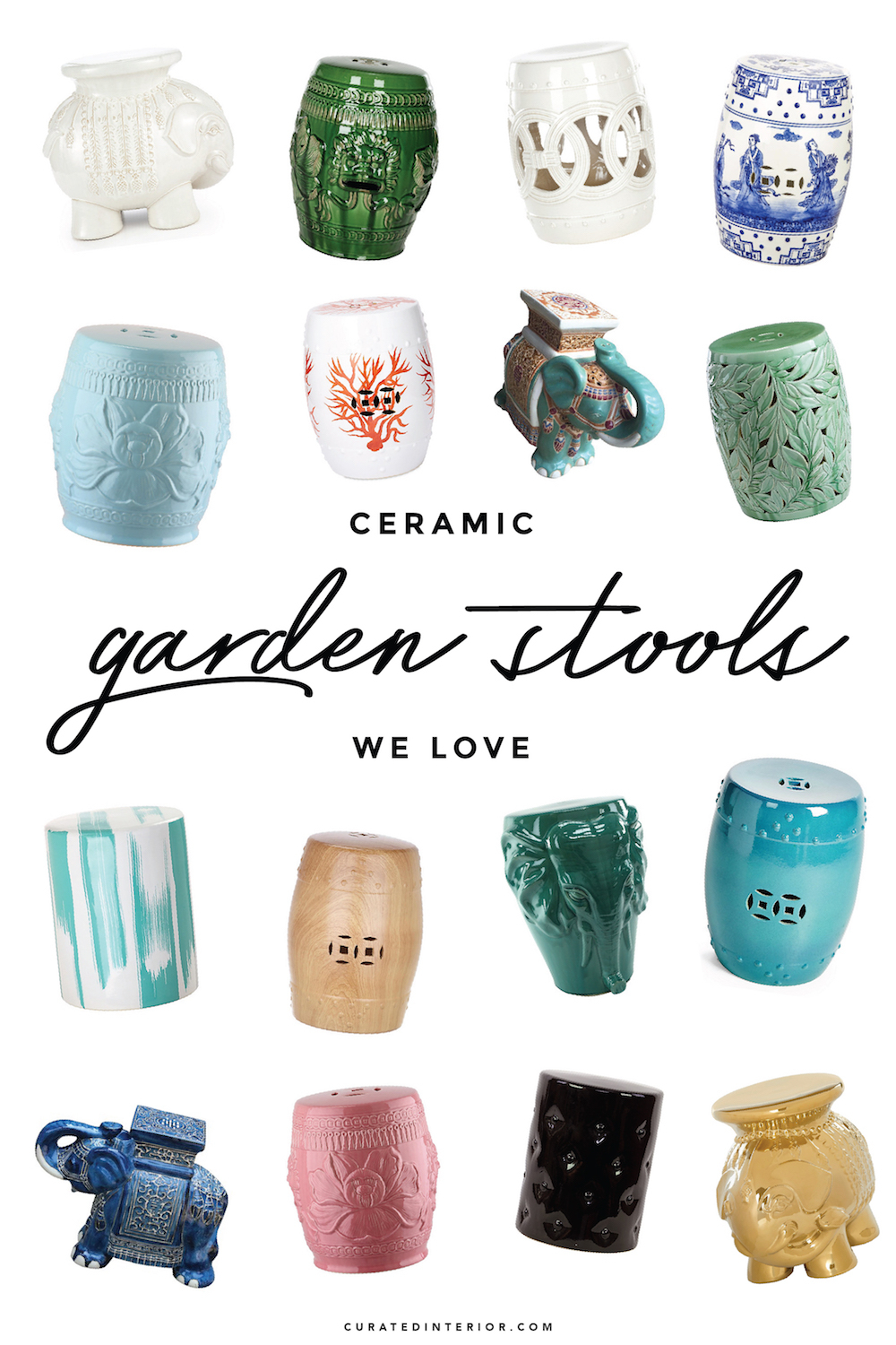 30 Gorgeous Ceramic Garden Stools For Summer With Ceramic Garden Stools (View 7 of 25)