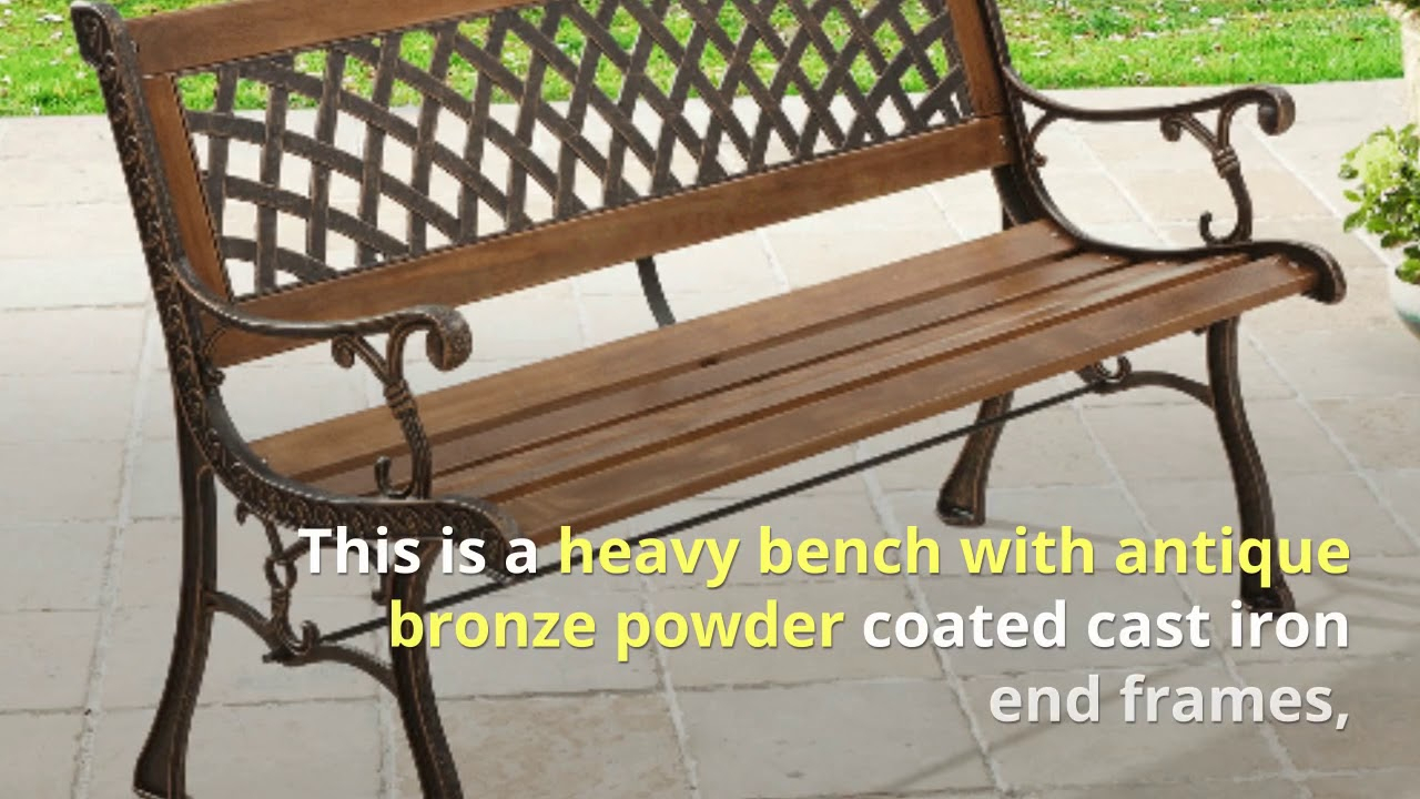 6 Of The Best Patio Metal Benches | For Michelle Metal Garden Benches (View 17 of 25)