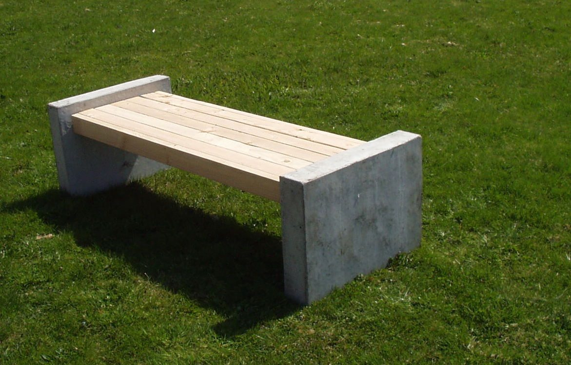 6Ft Concrete Manchester Bench With Manchester Wooden Garden Benches (View 9 of 25)