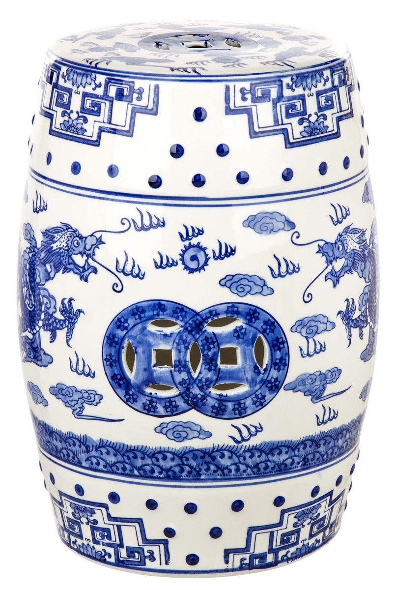 Acs4554A Garden Stools – Safavieh | Ceramic Garden Stools Intended For Ceramic Garden Stools (View 13 of 25)