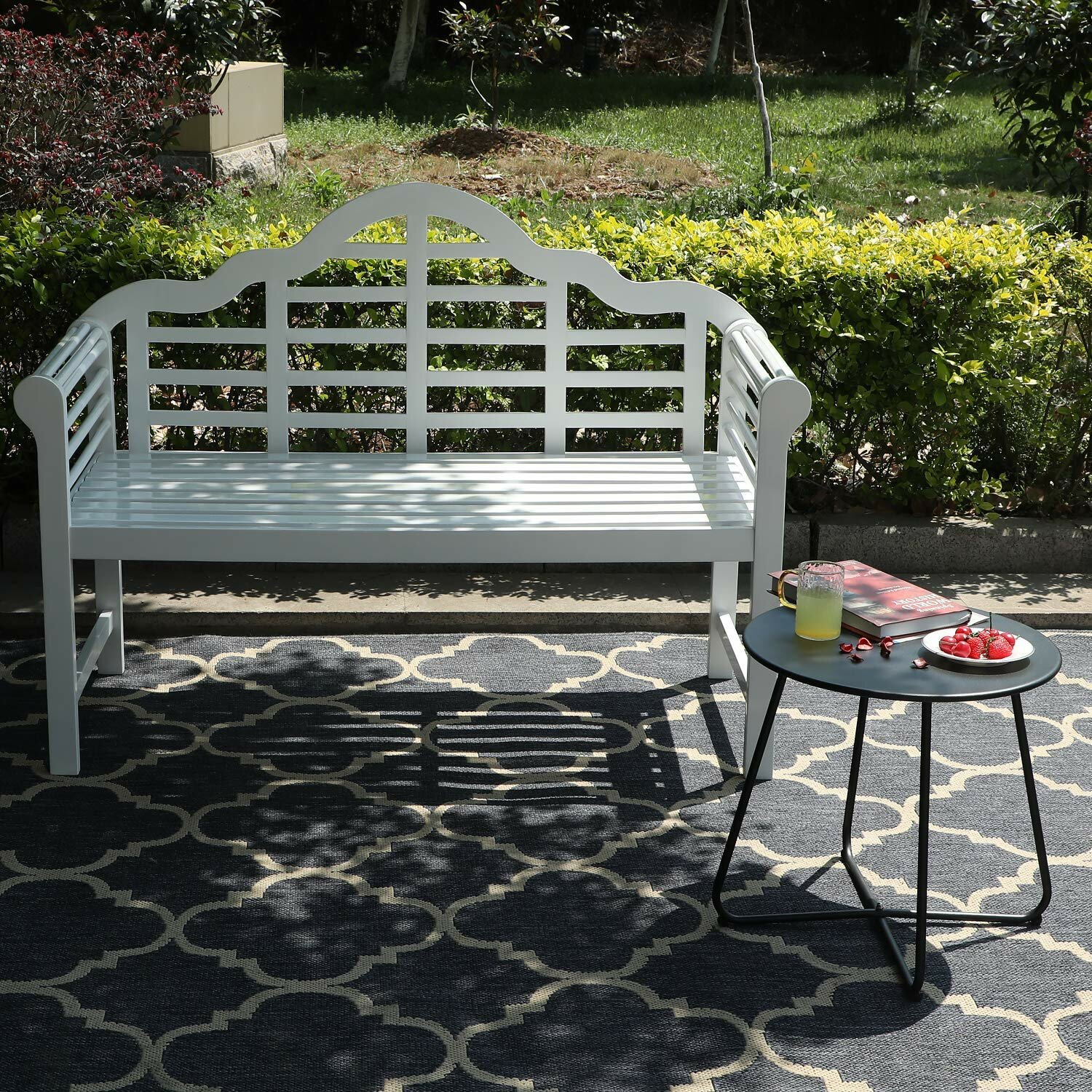 Featured Image of Ahana Wooden Garden Benches