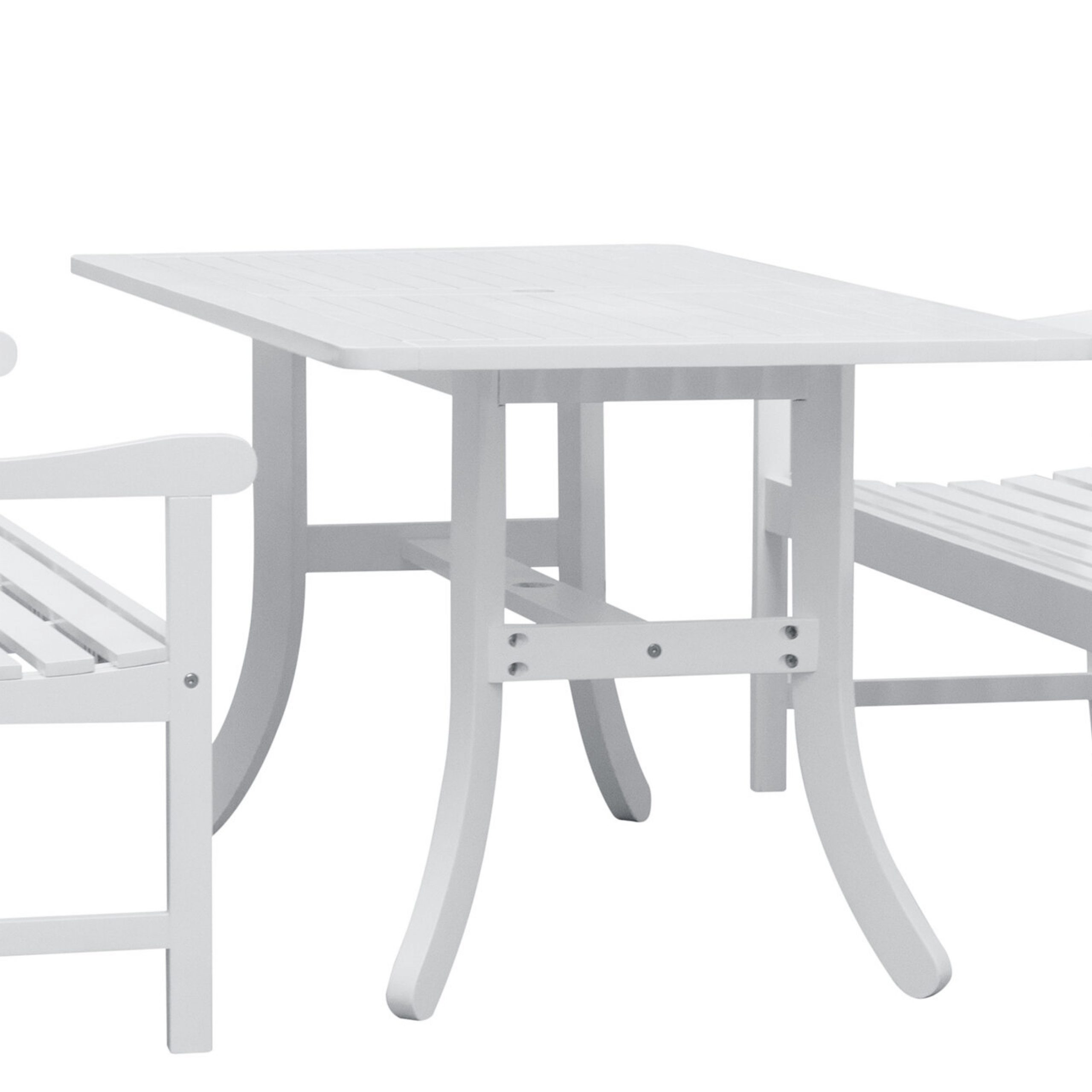 Amabel 3 Piece Patio Dining Set For Amabel Patio Diamond Wooden Garden Benches (View 12 of 25)