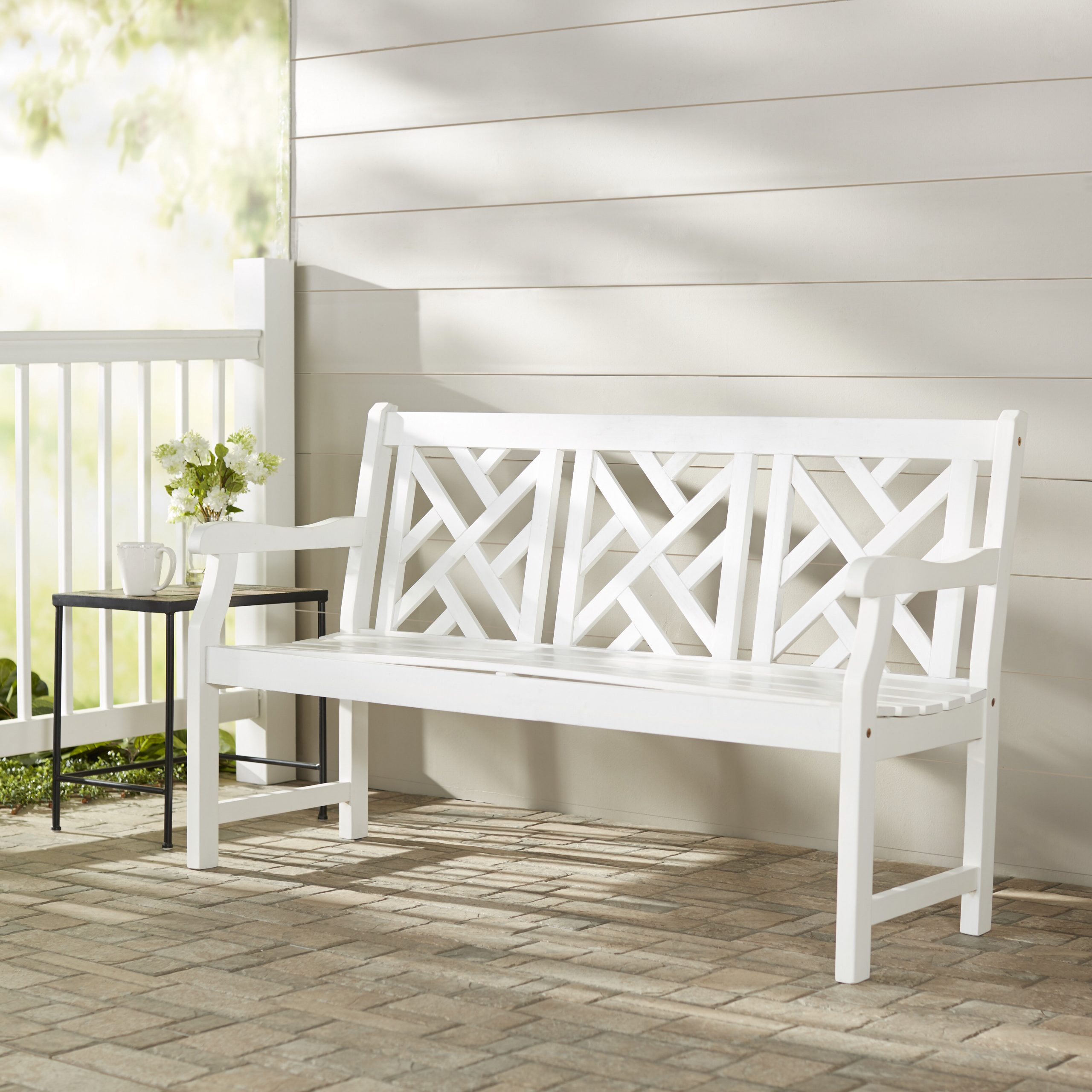Amabel Wooden Garden Bench With Regard To Amabel Wooden Garden Benches (View 6 of 25)
