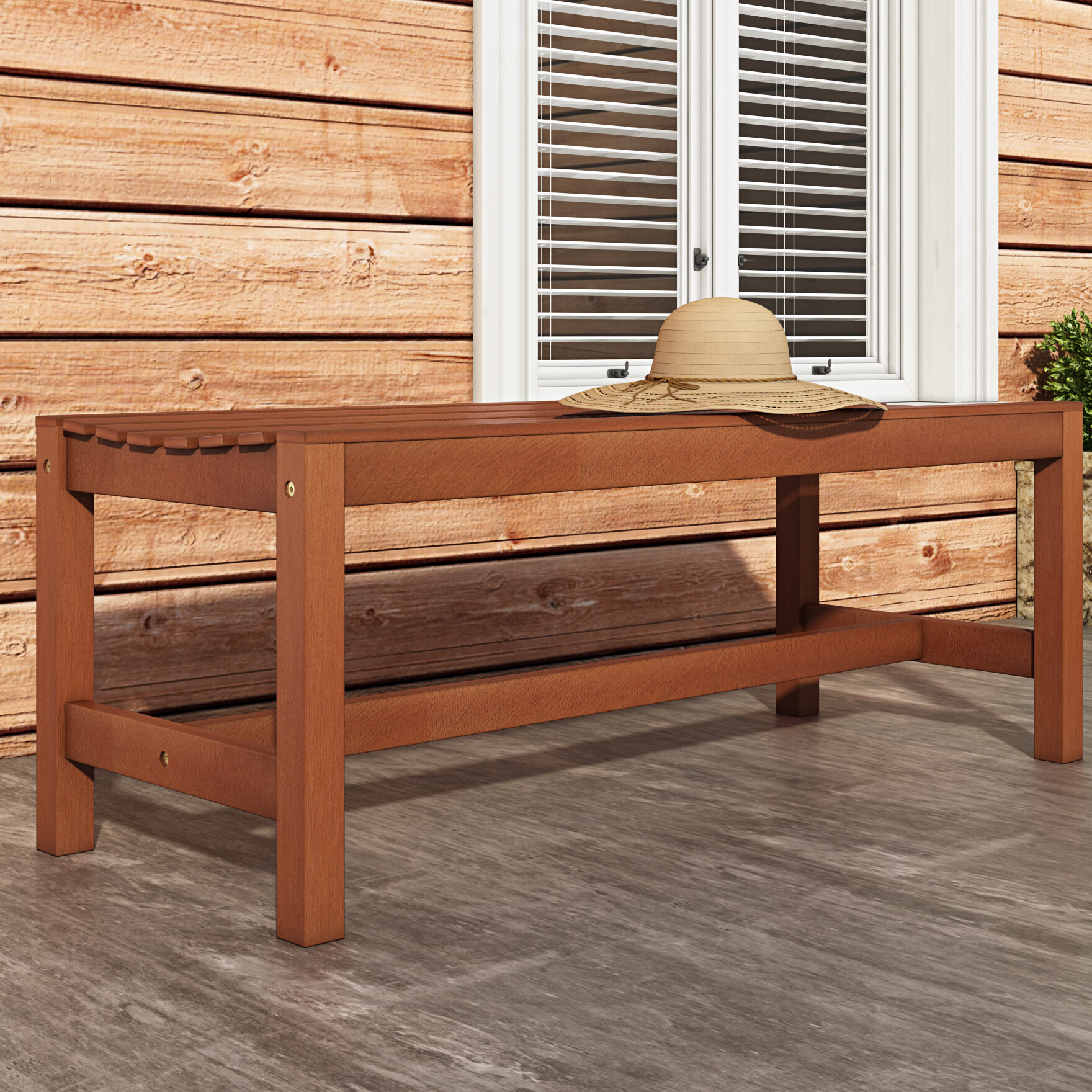 Amabel Wooden Outdoor Picnic Bench In Amabel Wooden Garden Benches (View 9 of 25)