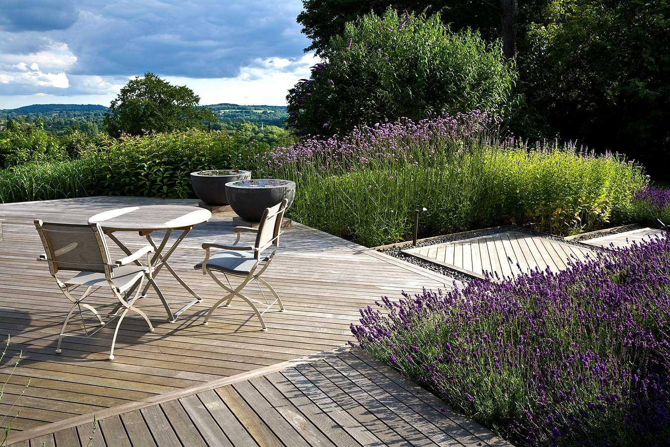Anthony Paul Garden Design Throughout Pauls Steel Garden Benches (View 23 of 25)