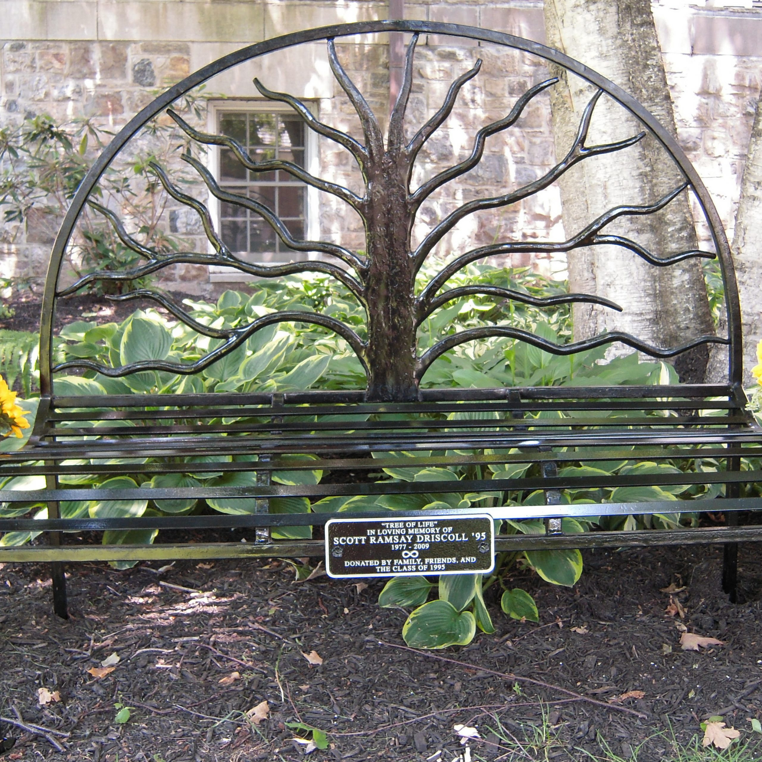 Benches & Garden | Wallacemetalworks1 Intended For Tree Of Life Iron Garden Benches (View 14 of 25)