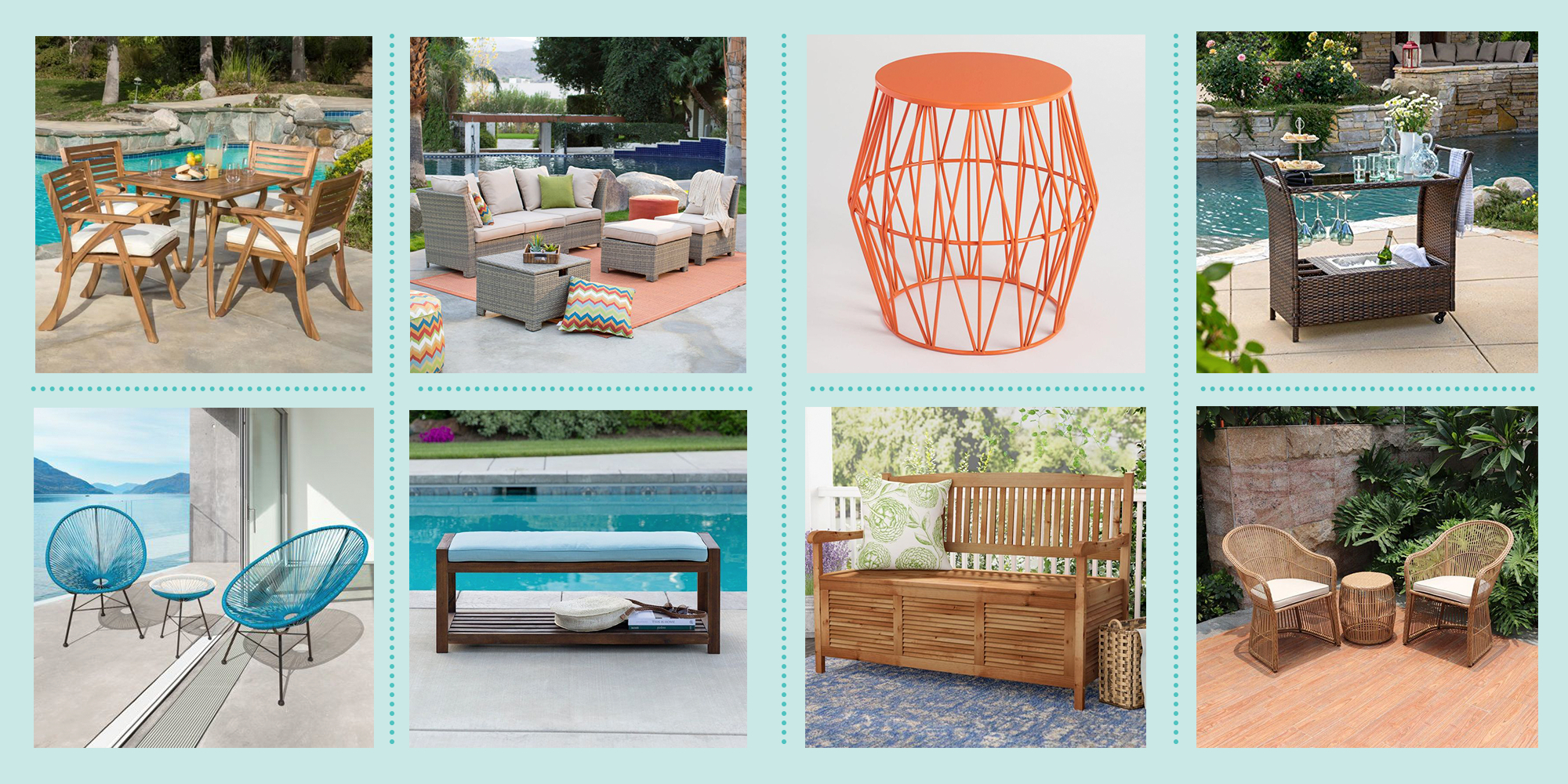 Best Outdoor Furniture 2020 – Where To Buy Outdoor Patio Regarding Ossu Iron Picnic Benches (View 22 of 25)