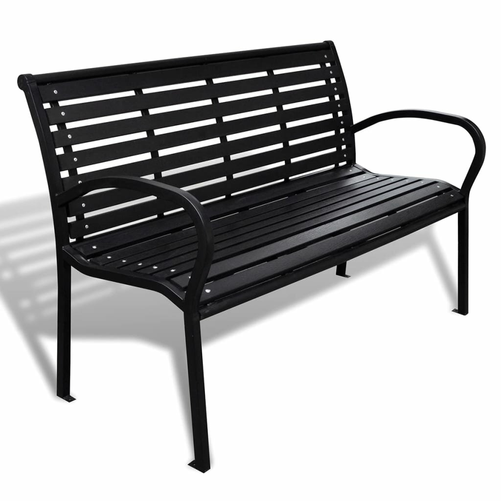 Best Price Barak Garden Bench | Furniture Online Intended For Ismenia Checkered Outdoor Cast Aluminum Patio Garden Benches (View 15 of 25)