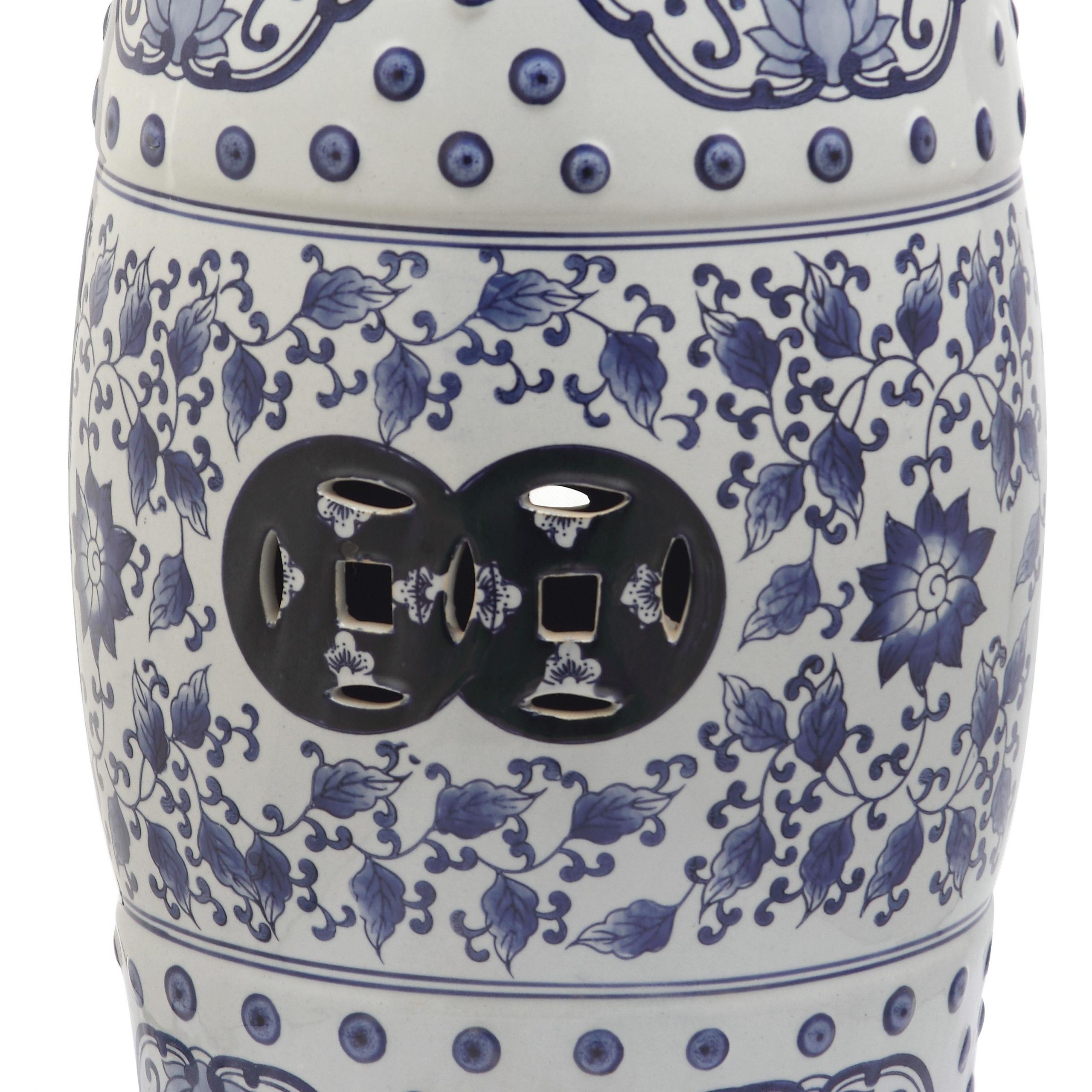 Blue Garden Accent Stools You'Ll Love In 2020 | Wayfair Intended For Wurster Ceramic Drip Garden Stools (View 9 of 25)