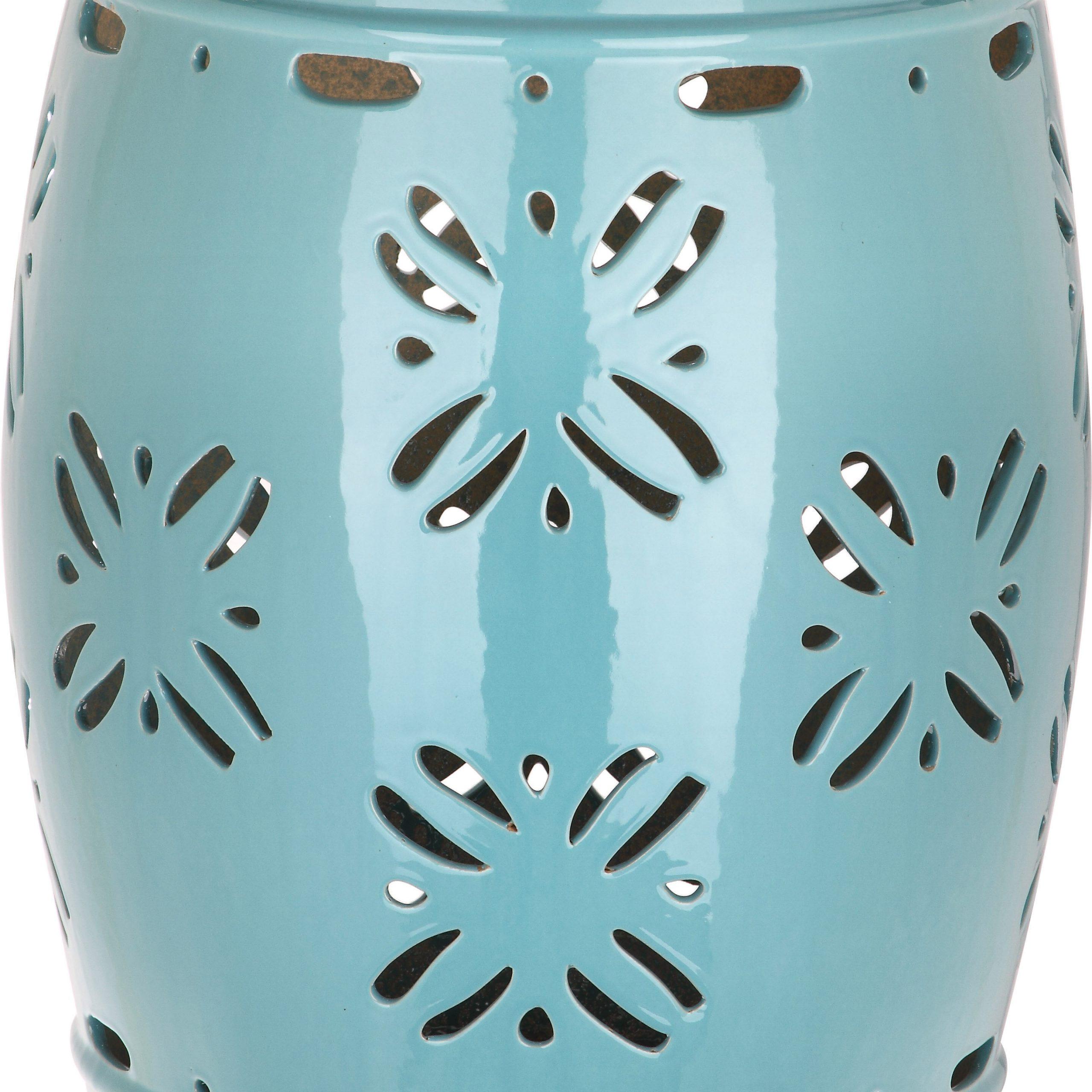 Blue & Green Garden Stools You'Ll Love In 2020 | Wayfair Regarding Murphy Ceramic Garden Stools (View 7 of 25)