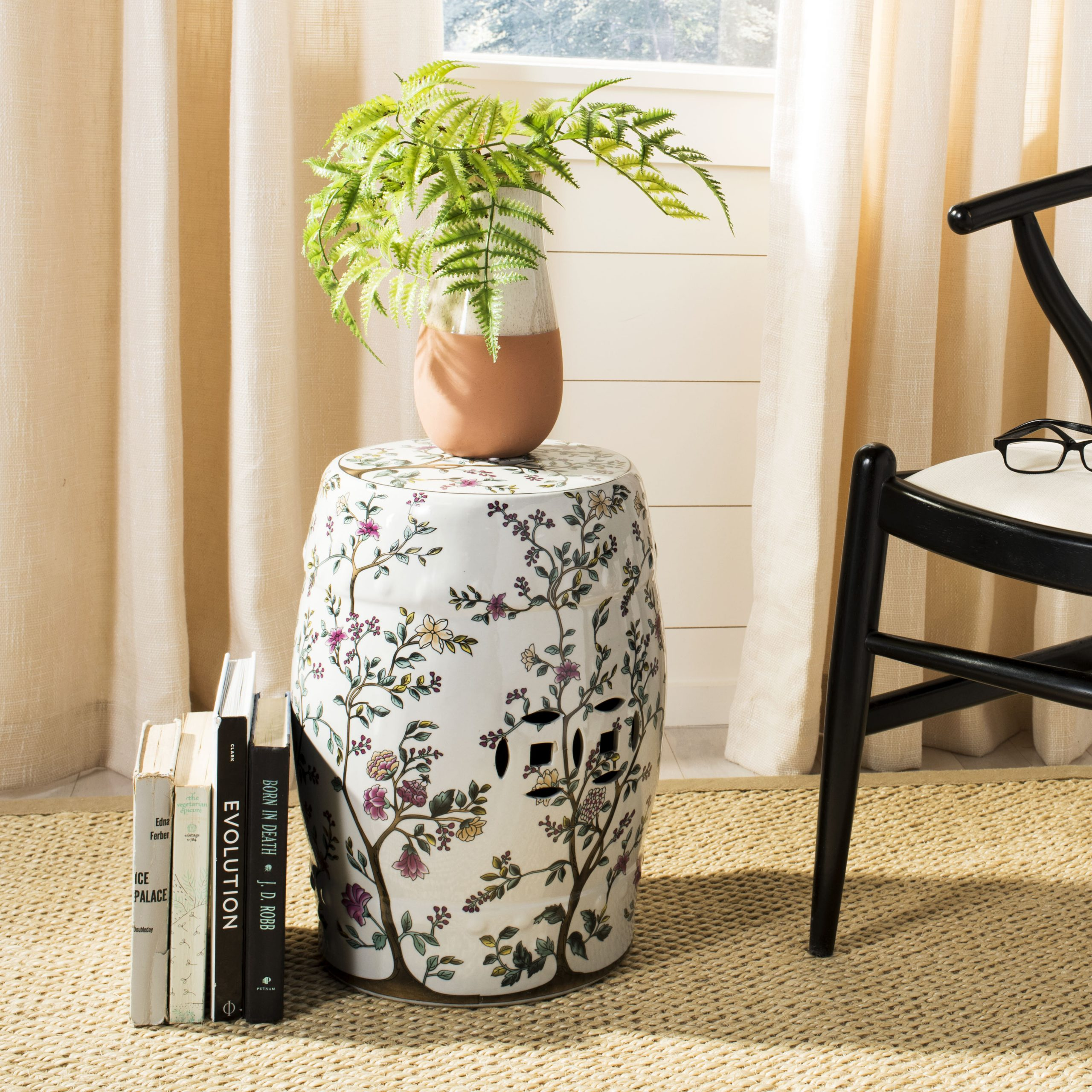 Blue & White Garden Stools You'Ll Love In 2020 | Wayfair Intended For Williar Cherry Blossom Ceramic Garden Stools (View 20 of 25)