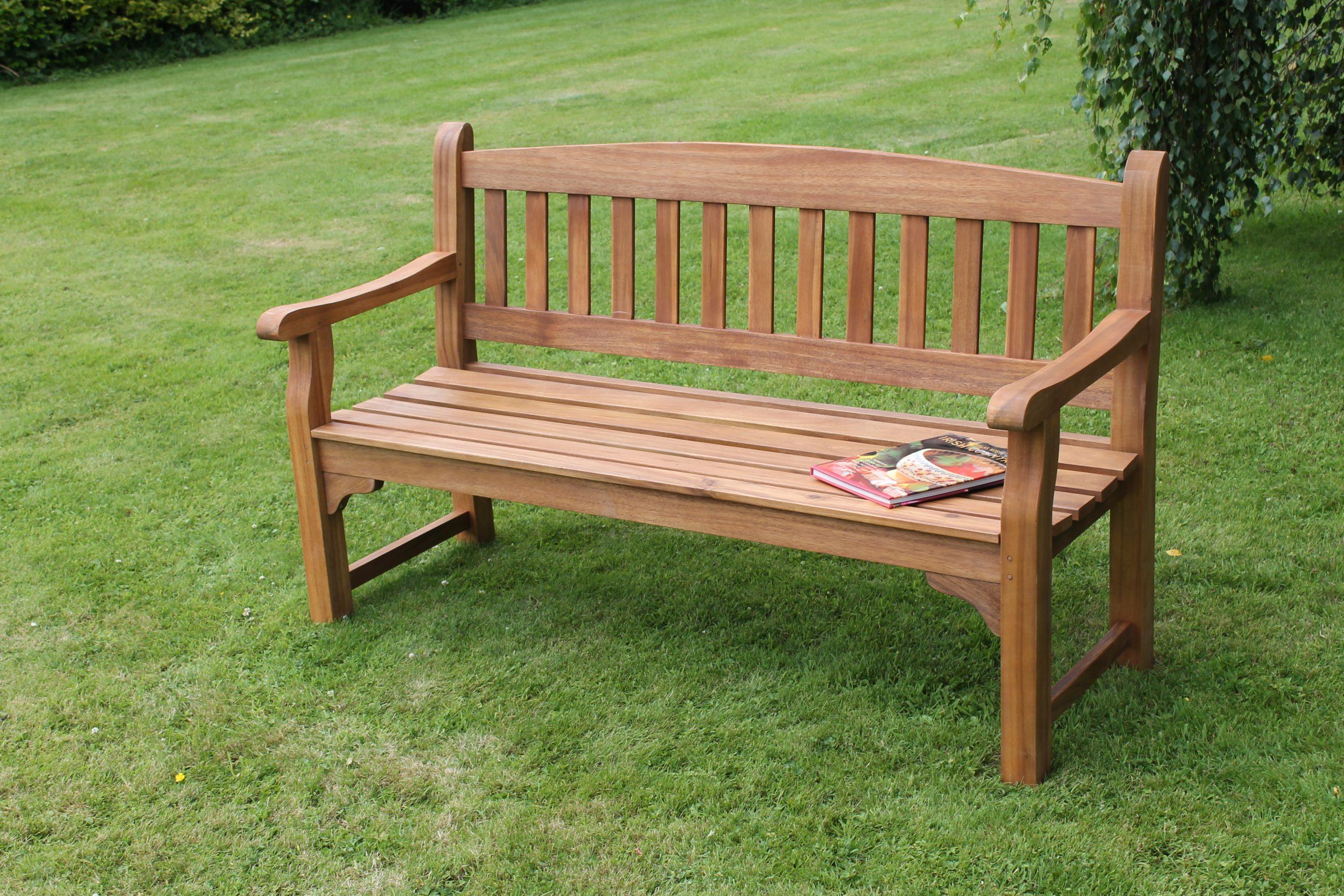 Boru Garden Bench Throughout Avoca Wood Garden Benches (View 16 of 25)