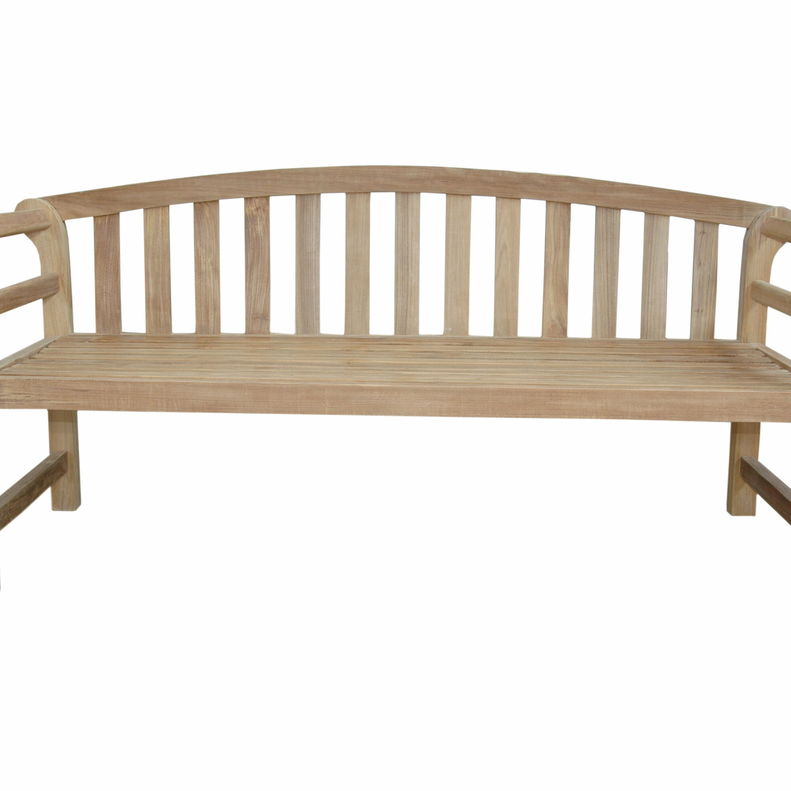 Brisbane Teak Garden Bench With Regard To Hampstead Teak Garden Benches (View 5 of 25)