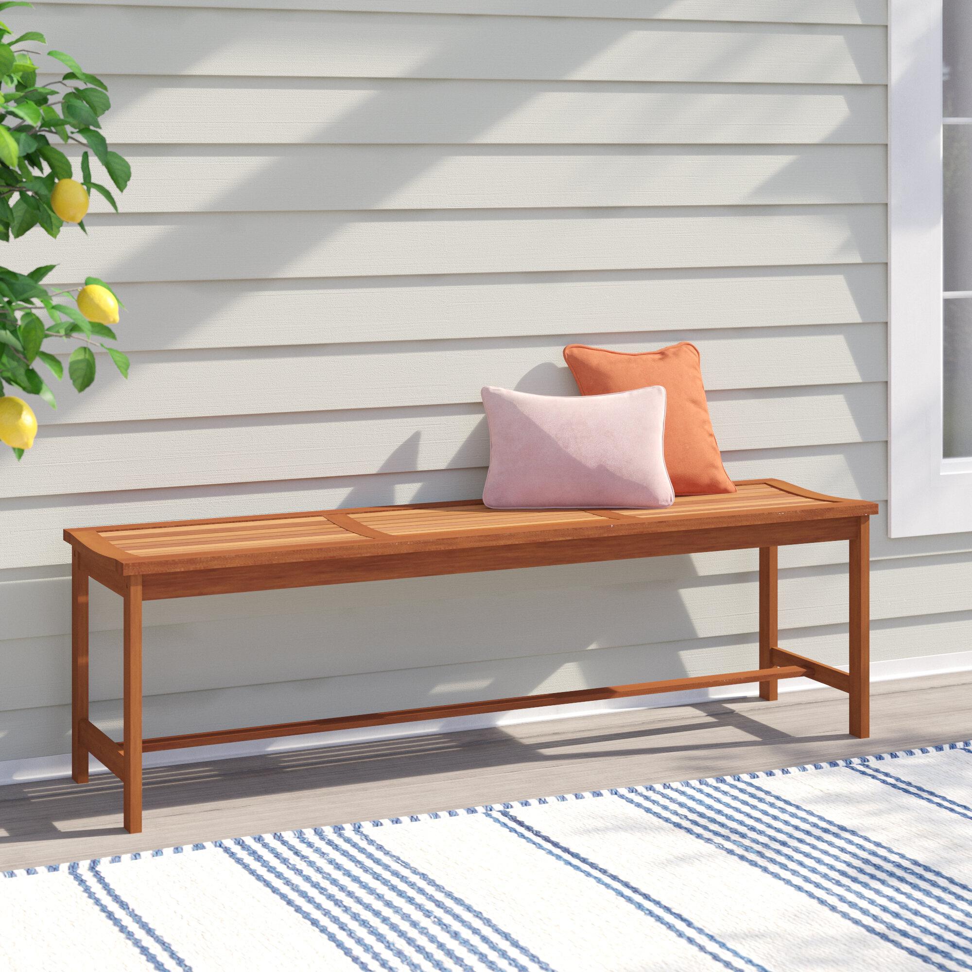 Cadsden Hardwood Picnic Bench With Regard To Cavin Garden Benches (View 18 of 25)