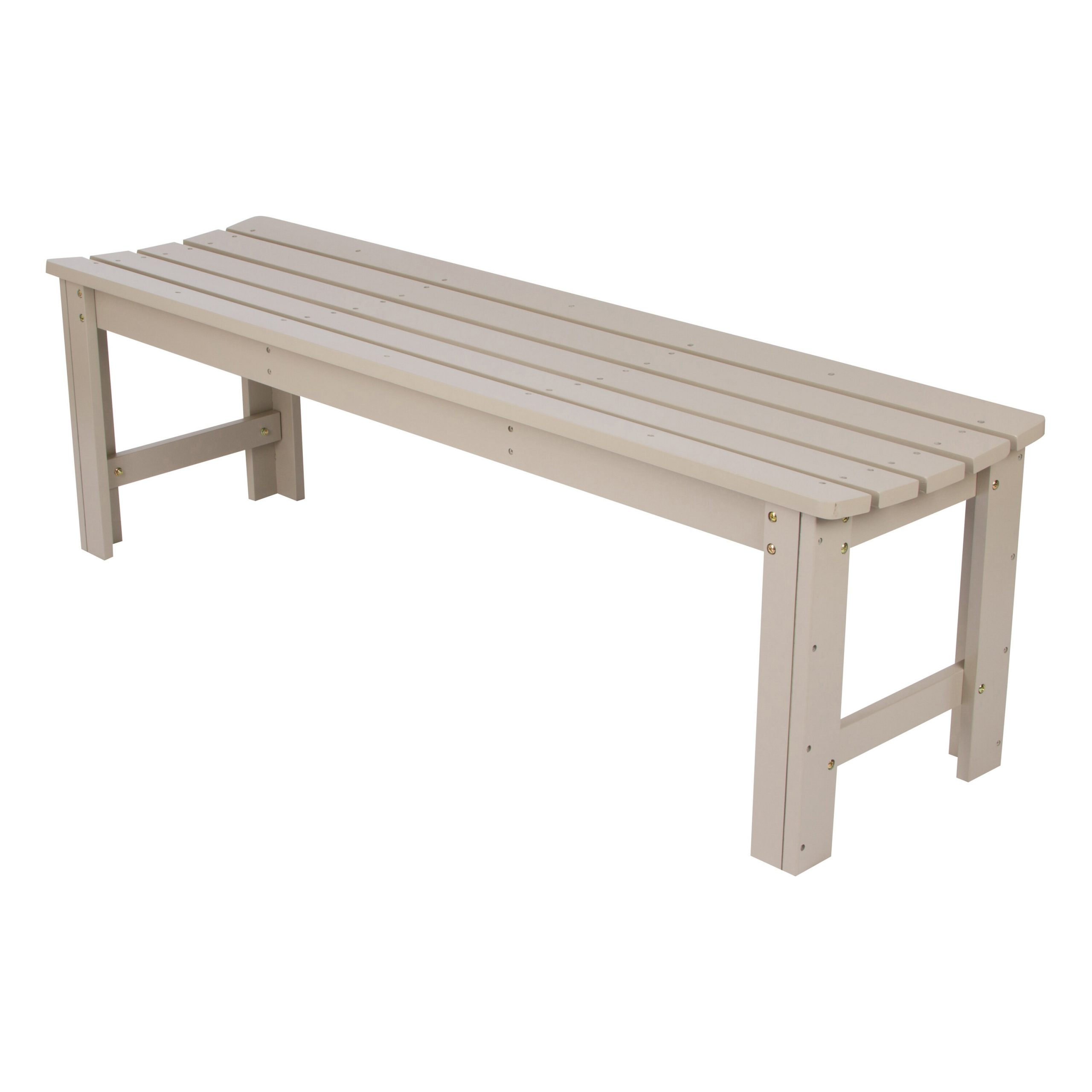Capitol Backless Wooden Garden Bench With Gabbert Wooden Garden Benches (View 13 of 25)