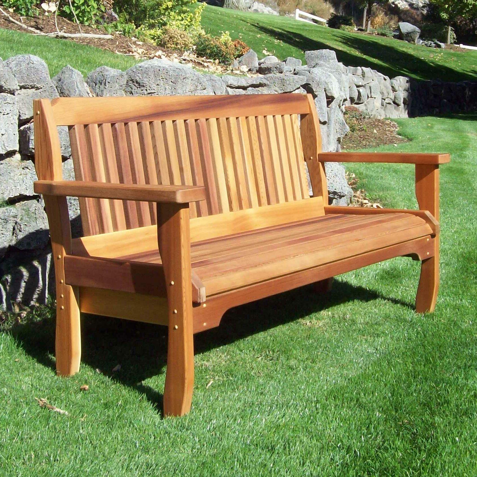 Carmelita Garden Bench For Lucille Timberland Wooden Garden Benches (View 6 of 25)