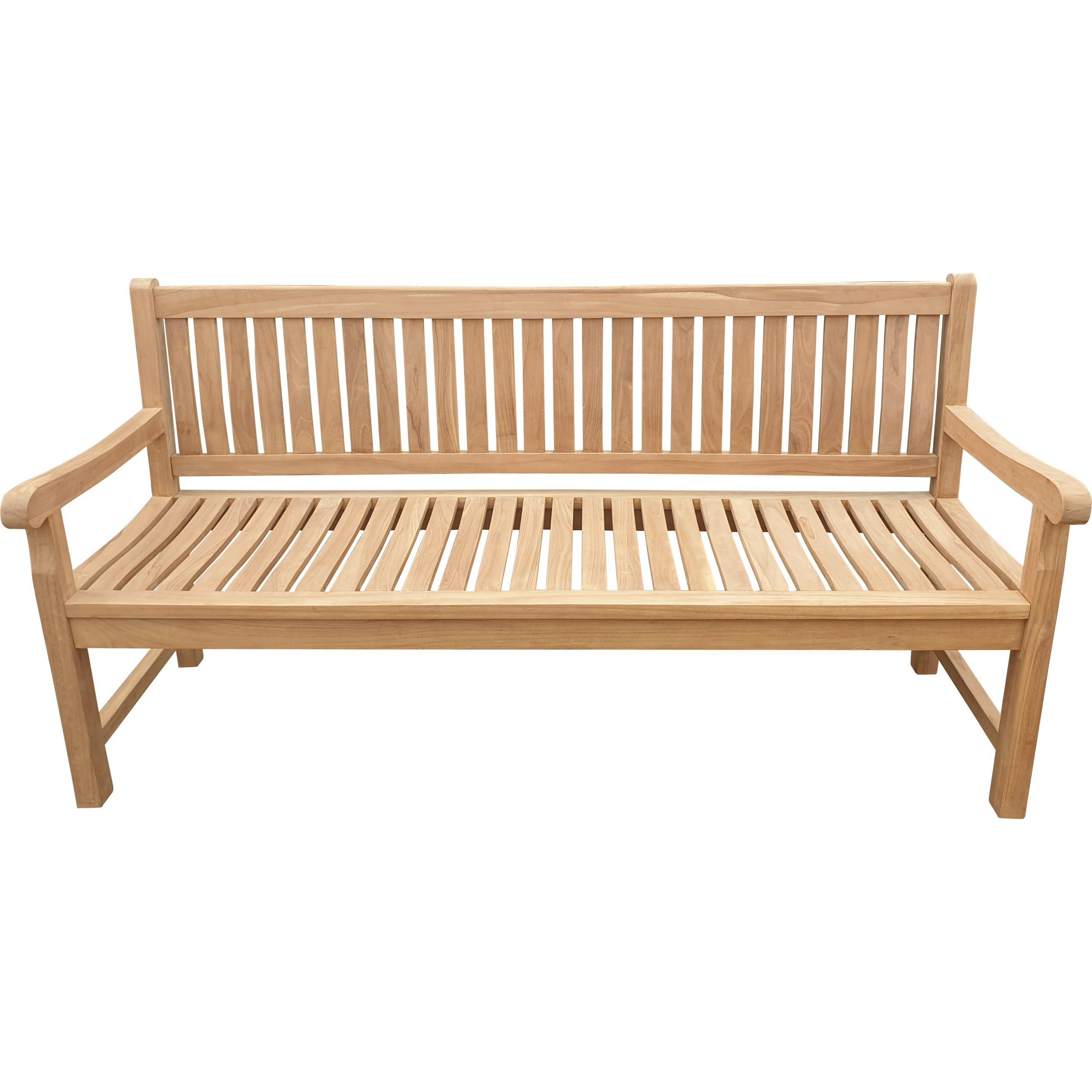 Casson Teak Garden Bench Regarding Wallie Teak Garden Benches (View 3 of 25)