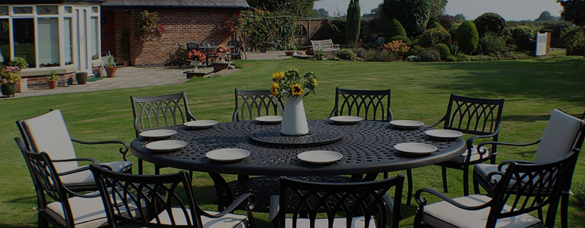 Cast Aluminium Garden Furniture | Free Fast Delivery Throughout Michelle Metal Garden Benches (View 22 of 25)