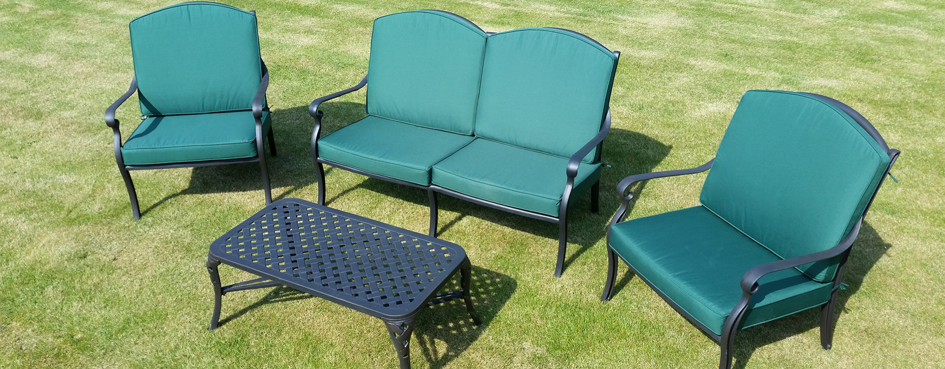 Cast Aluminium Garden Furniture | Free Fast Delivery With Regard To Michelle Metal Garden Benches (View 14 of 25)