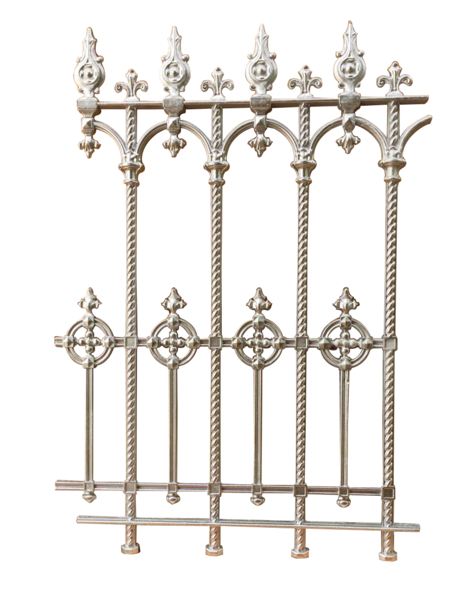 Cast Iron Railing Celtic Knot In Celtic Knot Iron Garden Benches (Photo 15 of 25)