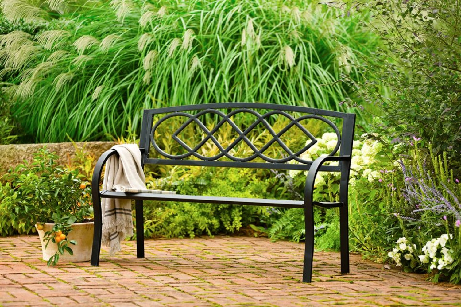 Celtic Knot Garden Bench In Celtic Knot Iron Garden Benches (View 25 of 25)