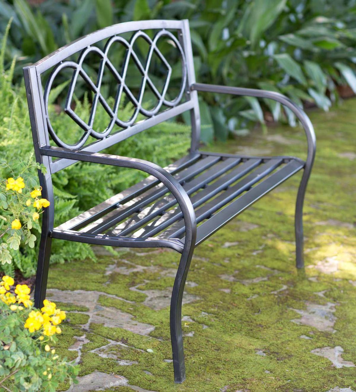 Celtic Knot Garden Bench | Metal Garden Benches, Garden With Celtic Knot Iron Garden Benches (View 5 of 25)