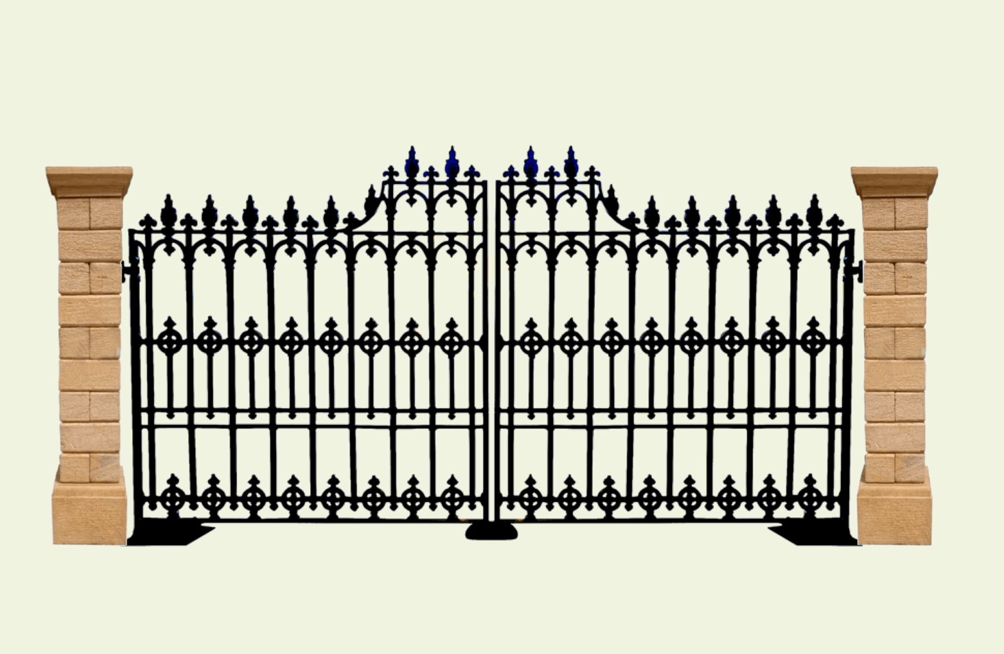 Celtic Knot Gate – Import Channel Intended For Celtic Knot Iron Garden Benches (View 24 of 25)