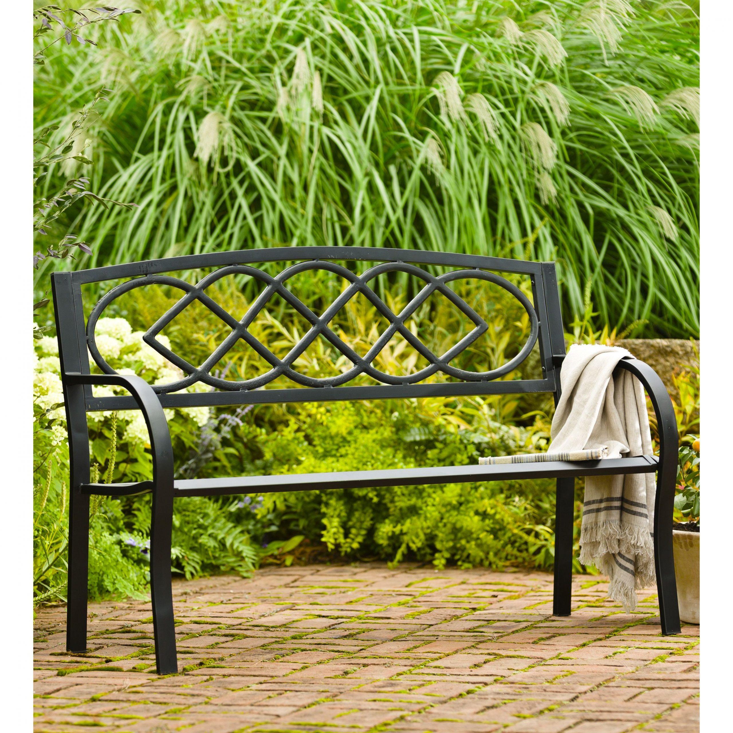 Celtic Knot Iron Garden Bench | Outdoor Garden Bench, Garden Within Celtic Knot Iron Garden Benches (Photo 2 of 25)