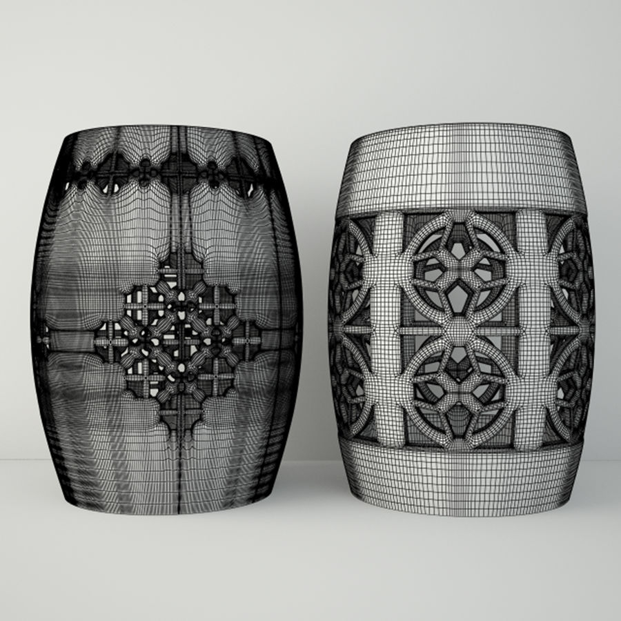 Ceramic Garden Stools 3D Model $17 – .Unknown .Max (View 24 of 25)