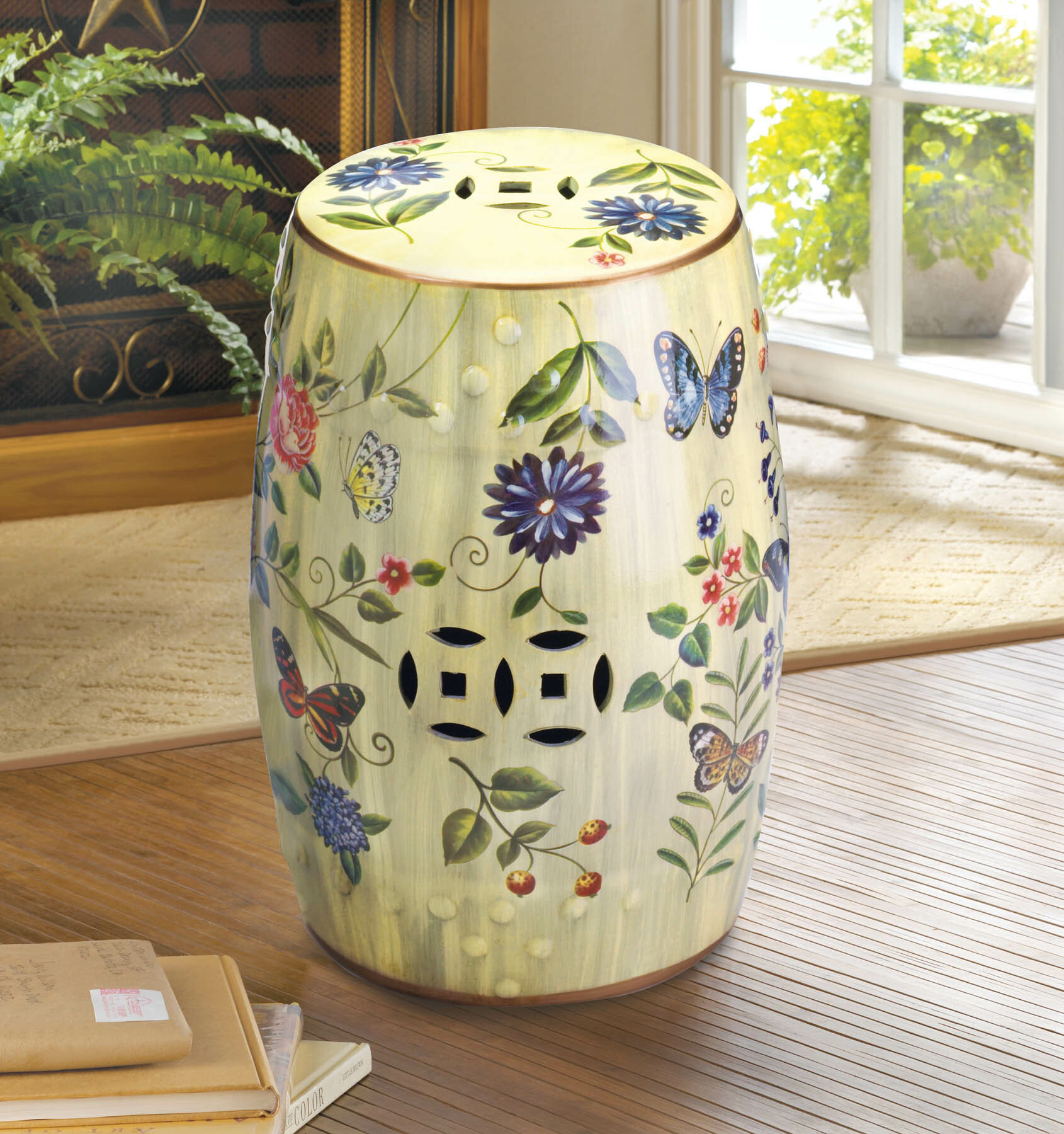 Ceramic Table Stools | Wayfair With Beckemeyer Ceramic Garden Stools (View 19 of 25)