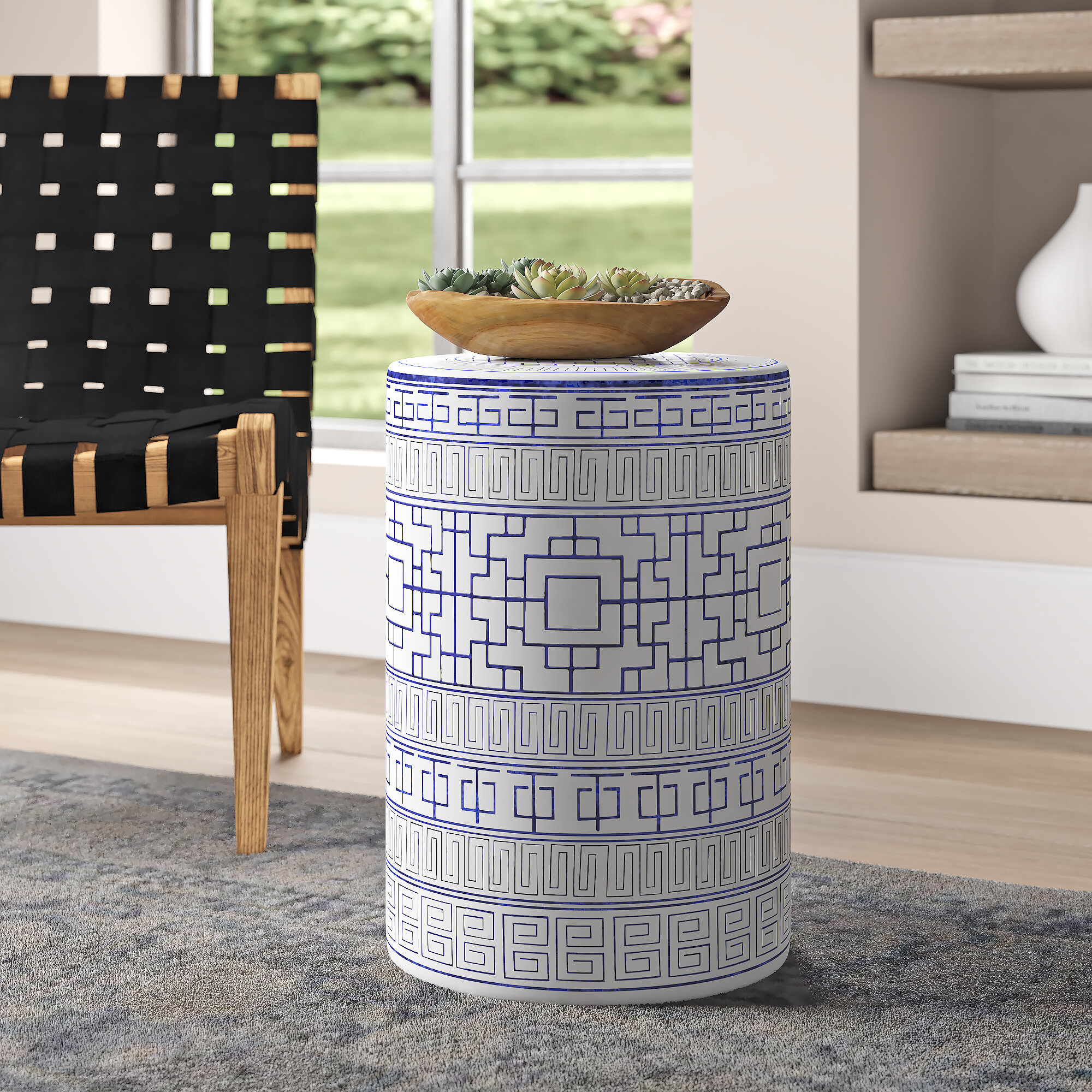 Ceramic White Garden Stools You'Ll Love In 2020 | Wayfair With Middlet Owl Ceramic Garden Stools (View 5 of 25)